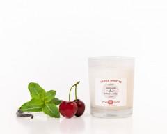 Bougie parfumée naturelle Cerise Griotte